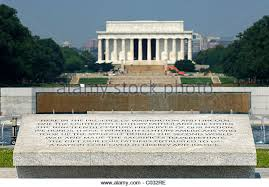 lincoln memorial building clipart. inscription on the world war ii memorial lincoln behind washington dc building clipart