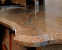 countertop granite large beveled edge