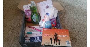 how influenster works i scored the super mom voxbox and you can get free stuff