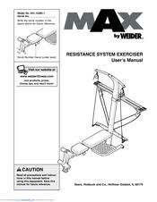 Weider Max Ultra Exercise Chart Weider Max Manuals
