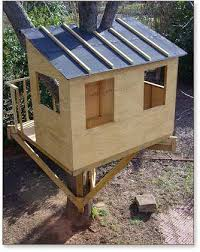 Backyard Treehouse Plans 9 Completely Free Tree House Plans Treehouse For Free