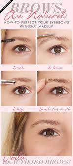 how to trim eyebrows with razor. eyebrow tips tricks tutorials how to trim eyebrows with razor