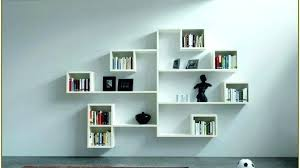 wall mounted cube shelving units amazing white 8 pigeon holes shelf storage decor display with regard to 6