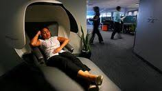 This Sleek Futuristic Napping Pod Lets You Snooze In Style At The