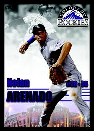 custom baseball cards 2015 custom baseball card set nolan arenado 6 jason s custom