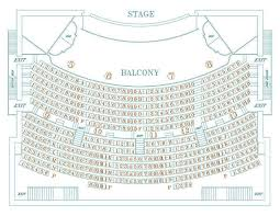 Main Stage Seating Chart Athenaeum Theatre