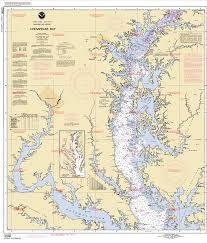 Chesapeake Bay Maps Charts Noaa Chart 12280_1 Northern Chesapeake Bay