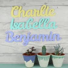 acrylic name sign bedroom