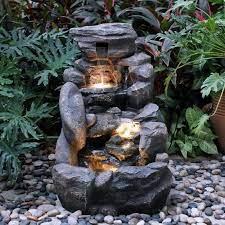 garden treasures 26 8 in resin rock