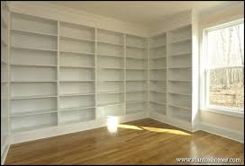 custom built in bookcases built in storage ideas built office storage