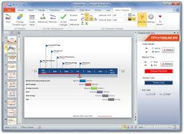 Powerpoint Office Timeline Create Project Timelines In Powerpoint 2010 With Office Timeline