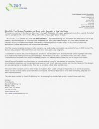 Cover Letter Template Microsoft Word Examples Free Templates Format