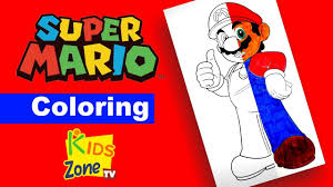 Coloring Pages Super Marioloring Pages Printable Bros For