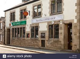 office coffee shop. The Post Office And Coffee Shop In Sedbergh, Cumbria E