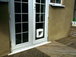 cat door for french flap in glass unit install pet how to a do how to install cat door