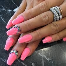 Acrylic Pink Nails - cpgdsconsortium.com