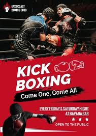 Online Boxing Club Poster Template Fotor Design Maker