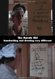 Karate Kid Quotes Delectable The Karate Kid 48 Movie Mistake Picture ID 48