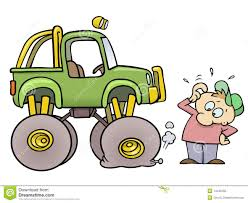 flat tires clipart. Delighful Flat Monster Truck With Flat Tire Throughout Flat Tires Clipart L
