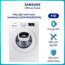 Giá bán | Máy giặt cửa trước Samsung WW90K52E0WW/SV Inverter AddWash 9Kg  (Trắng) - Liên Hệ Hotline Samsung 1800588889 để được hỗ trợ lắp đặt - Hàng  chính hãng