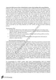young offenders essay year hsc legal studies  young offenders essay 15 15