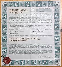 Superlative Certificate Rolex Certificate Submariner Date Stainless Steel 16610 Vintage