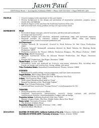 Free Sample Resume Example Of Resume Free Resume Examples