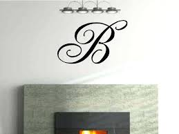 wall decals letters monogram wall decals letters wall decals letters large
