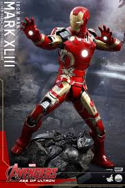 hot toys reveal their iron man mark xliii avengers age of ultron action figure