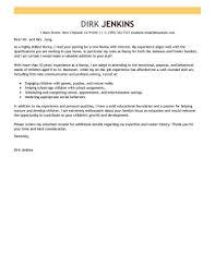 Nanny Cover Letter Example Billigfodboldtrojer Com