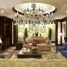 large crystal chandelier cognac luxury modern large crystal ceiling lights 2 tiers 15 lights of romance