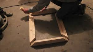 Making a picture frame Bed Frame Youtube How To Make Small Wooden Picture Frame Youtube