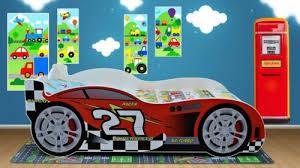 children kids racing car bed 160 x 80