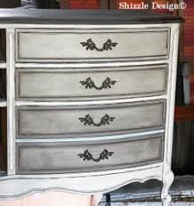 gray and white furniture. French Provencial Dresser Painted In Gray, White, Layered Chalk, Clay  Paints Shizzle Design Furniture During Chalk Ideas 5 Gray And White F