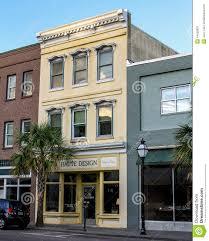 Stock Design South King Street Haute Design King Street Charleston Sc Editorial Photo