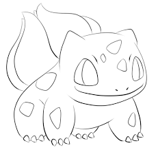 Small Picture Bulbasaur coloring page Free Printable Coloring Pages