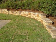 Small Picture low retaining wall ideas Front Yard Pinterest Low retaining