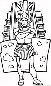 Small Picture aztecs coloring pages free printable coloring page Man Aztec