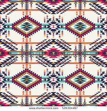 navajo designs. Delighful Designs Retro Colors Tribal Vector Seamless Navajo Stock 526304467   Shutterstock Intended Designs I