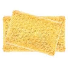 interior yellow bath rugs mats the home depot comfortable mat 1 yellow bath mat
