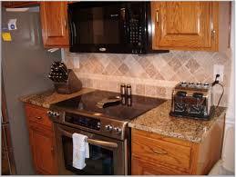 Granite Countertops Kitchener Brown Granite Tile Countertop Design Idea With Kitchen Cabinet