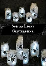 diy halloween decorations home. DIY Halloween Spider Light Centerpiece Diy Decorations Home