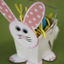 Decorating Boxes With Paper Easter Bunny Handmade Paper Box 38