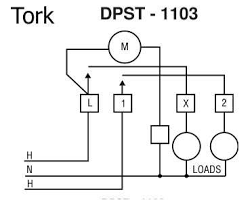 solved not sure how to wire my tork 1103 timer fixya tork pool pump timer at Tork Timer Wiring Diagram