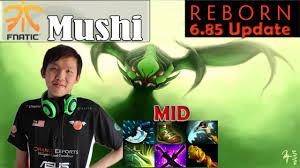 mushi viper midlane pro gameplay dota 2 mmr youtube