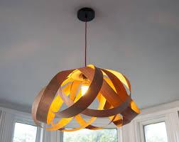 wooden daisy pendant lampshade by randomlights com for lamp shades ideas 19