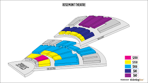 Rosemont Theater Virtual Seating Chart Www