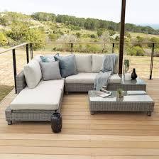gfs7031 titan milan daybed corner patio set titanium