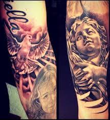 Anděl A Holubice Božské To Tetování Tetováníblogcz