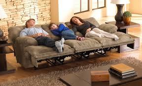 voyager lay flat power reclining sofa